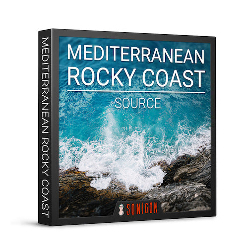 Sonigon Mediterranean Rocky Coast Source Sound Effects Library Audio Post Production SFX Game Field Recording
