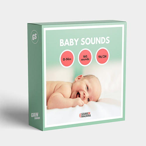 Sounds Ex Machina Baby Sounds Sound Effects Library Audio Post Production SFX Game Field Recording