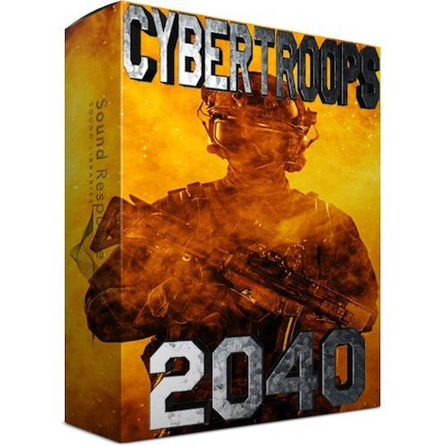 Sound Response Cyber Troops 2040 Sound Effects Library Post Production Audio SFX Game Field Recording