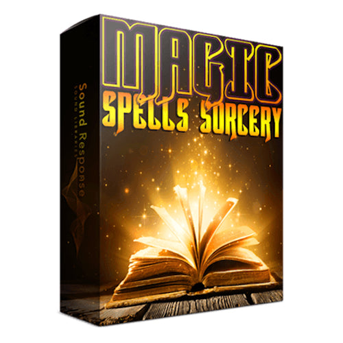 Sound Response Magic Spells & Sorcery Sound Effects Library Post Production Audio SFX Game Field Recording