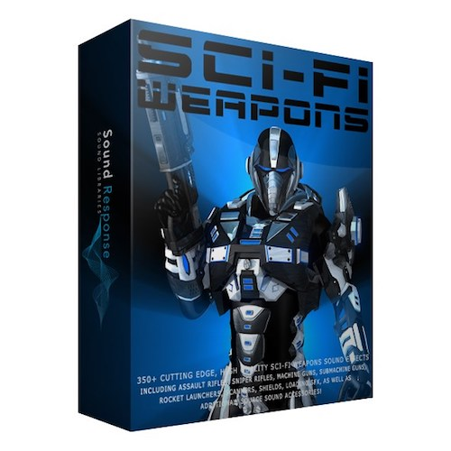 Sound Response Sci-Fi Weapons Sound Effects Library Post Production Audio SFX Game Field Recording