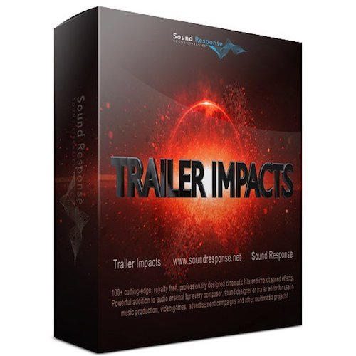 Sound Response Trailer Impacts Sound Effects Library Post Production Audio SFX Game Field Recording