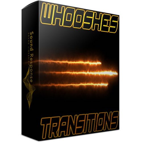 Sound Response Whooshes & Transitions Sound Effects Library Post Production Audio SFX Game Field Recording