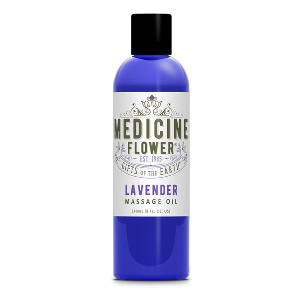 Lavender Massage Oil 8oz 240ml