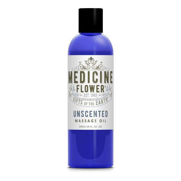 Unscented Massage Oil 8oz 240ml