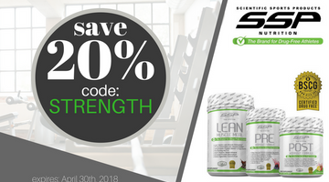 SSP Release:  Spring Special on Certified Drug-Free Supplements