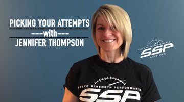 Multi-time IPF World Powerlifting Champion, Jennifer Thompson explains her strategy for picking max lifts using percentages.
