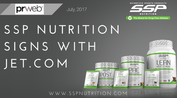 SSP Nutrition Signs with JET.COM