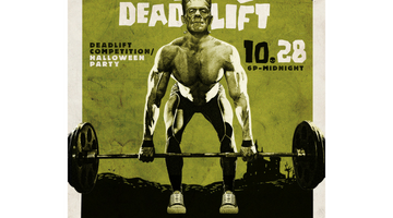 SSP Nutrition Sponsors Night of the Living Deadlift Powerlifting Party!!