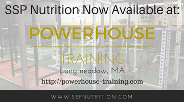 SSP Nutrition Partners with Powerhouse Training in Longmeadow, MA
