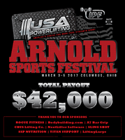 SSP Nutrition Announces $4,500 in Prize Money, 2017 Arnold Sports Festival