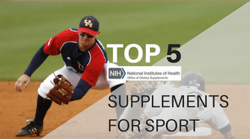 NIH Report Identifies Top Supplements Used In Amatuer & Professional Sport
