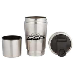 SSP Stainless Shaker Bottle w Lower Storage Compartment USAPL Special