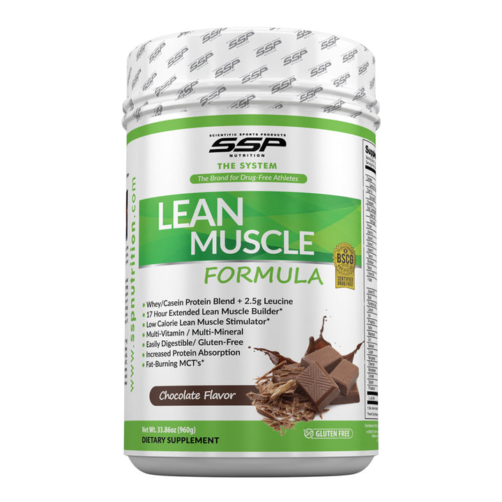 Canister of LEAN MUSCLE Formula