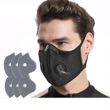 PM2.5 Workout Exercise Mask: Adjustable Air Flow (100% Reusable Protective Mask)