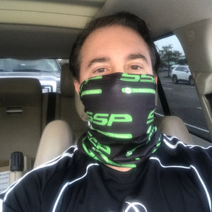 SSP Logo Print Face + Neck Gaiter + 10 Filters