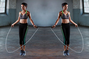SSP Jump Rope Smart Counter: Weighted jump rope with HD LCD counter display