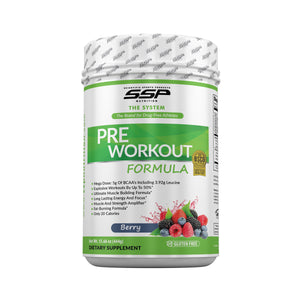 SSP NUTRITION PRE Workout Formula