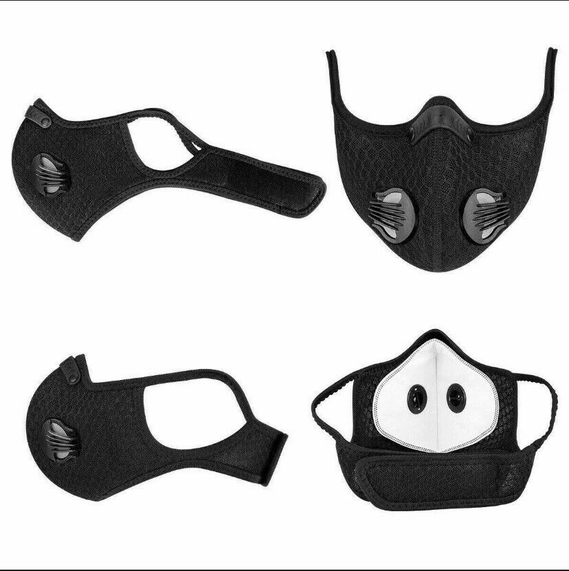 10 Replacement Filters for PM2.5 Workout Exercise Mask