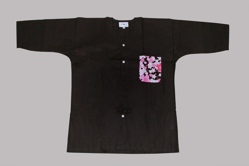 Koikuchi shirt Sakura Pocket