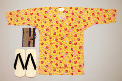 Koikuchi shirt Daruma for Men