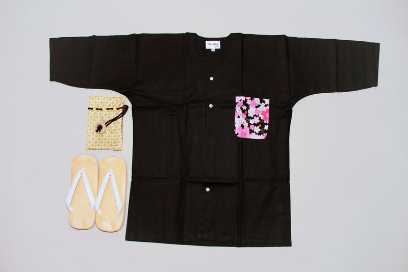 Koikuchi style Sakura Pocket Men
