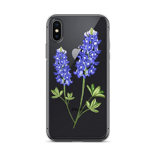 State Flower Shop Phone Case TEXAS Bluebonnet Flower iPhone Case