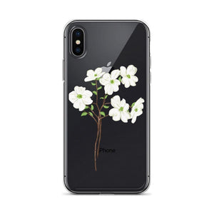 State Flower Shop Phone Case VIRGINIA Dogwood Flower iPhone Case