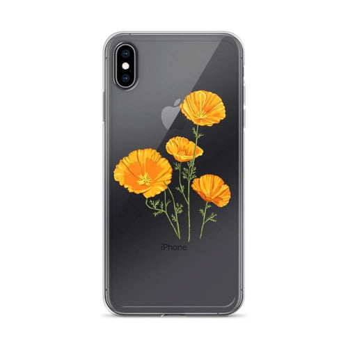 State Flower Shop Phone Case CALIFORNIA iPhone Case