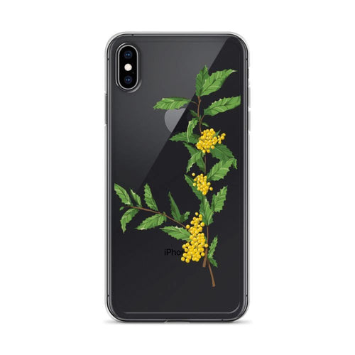 State Flower Shop Phone Case OREGON Grape Flower iPhone Case