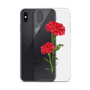 State Flower Shop Phone Case OHIO Carnation Flower iPhone Case