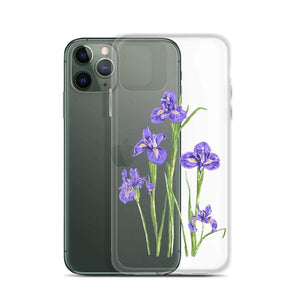 State Flower Shop Phone Case TENNESSEE Iris Flower iPhone Case