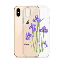 Load image into Gallery viewer, State Flower Shop Phone Case TENNESSEE Iris Flower iPhone Case
