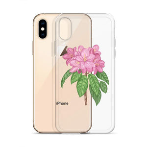 State Flower Shop Phone Case WASHINGTON Rhododendron Flower iPhone Case