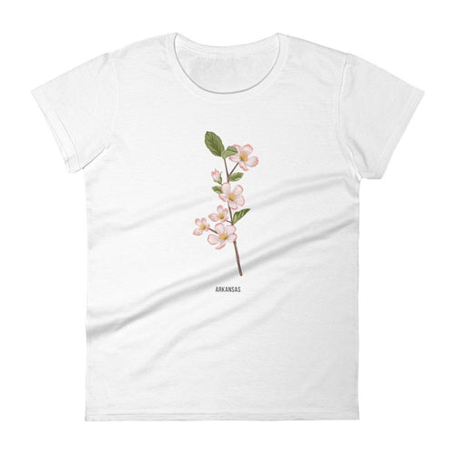 State Flower Shop T-Shirt ARKANSAS Apple Blossom Shirt