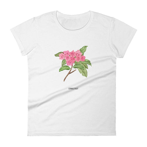 State Flower Shop T-Shirt CONNECTICUT Mountain-Laurel Shirt