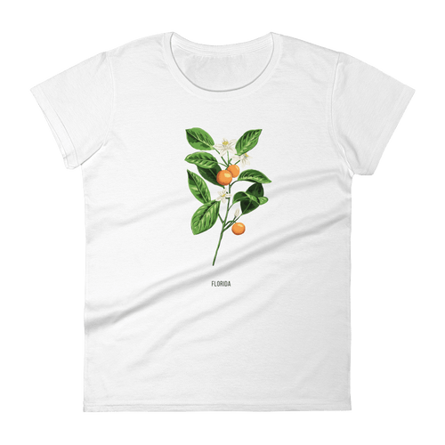 State Flower Shop T-Shirt FLORIDA Orange Blossom Shirt