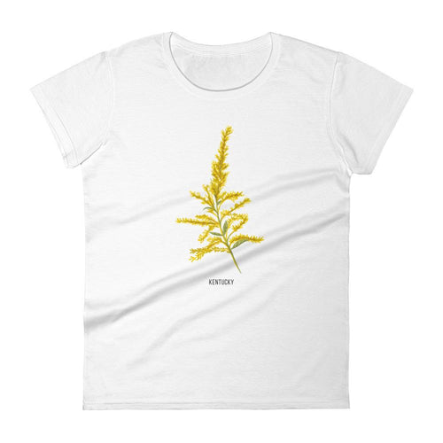 State Flower Shop T-Shirt KENTUCKY Goldenrod Shirt