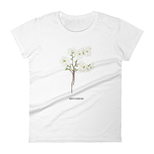 State Flower Shop T-Shirt NORTH CAROLINA Dogwood Flower Shirt