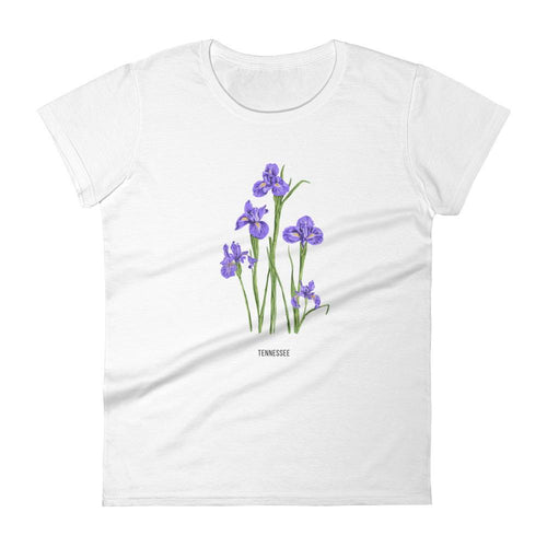 State Flower Shop T-Shirt TENNESSEE Iris Flower Shirt