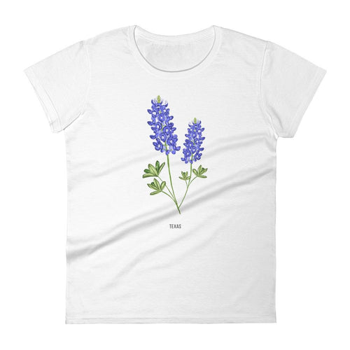 State Flower Shop T-Shirt TEXAS Bluebonnet Flower Shirt
