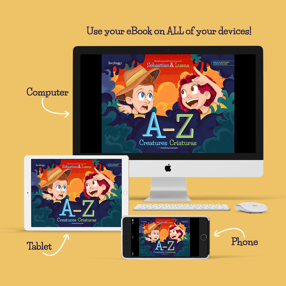 Personalized A-Z Creatures