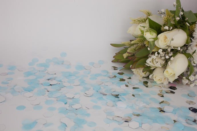 Metallic & Tissue Paper Eco Confetti (wholesale)