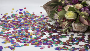 Eco Confetti Metallic & Small Cones - 10 Pack