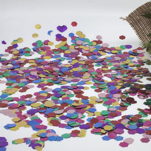 Metallic Eco Confetti - CHOOSE YOUR COLOURS