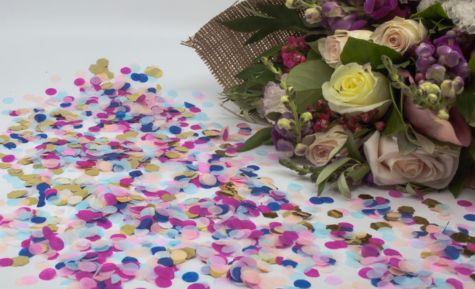 Metallic & Tissue Paper Eco Confetti - Wholesale-Eco Confetti