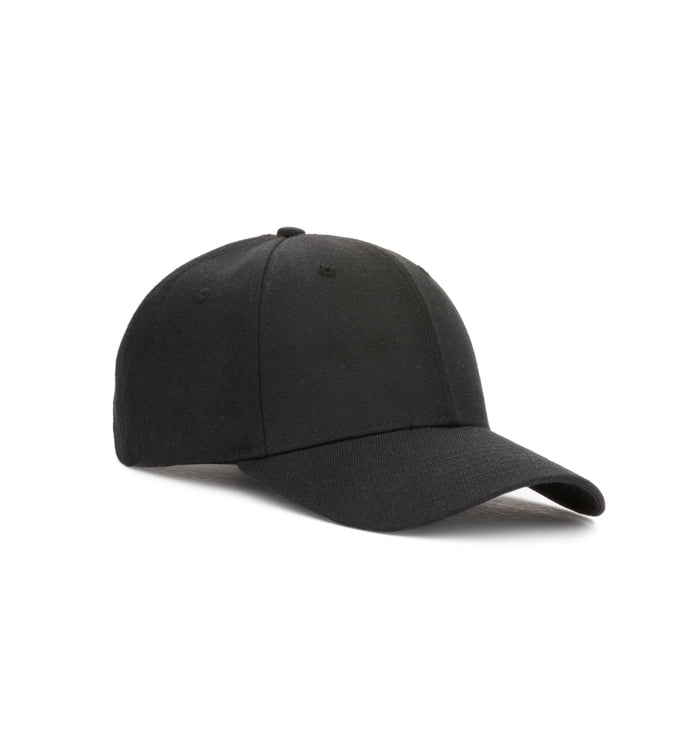 Baseball Caps - Coal Black