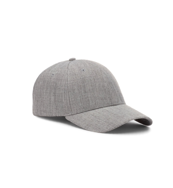 Baseball Caps - Light Heather Grey