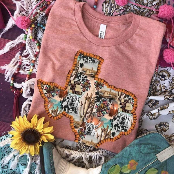 Western Texas Collage Tees