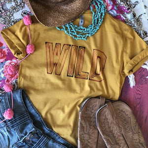 WILD Marquee Tee (3 COLOR OPTIONS)